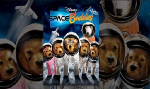 Poster of the comedy film Space Buddies