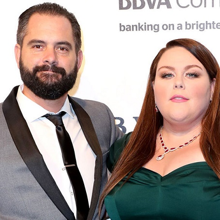 Martyn Eaden and his ex-wife Chrissy Metz.