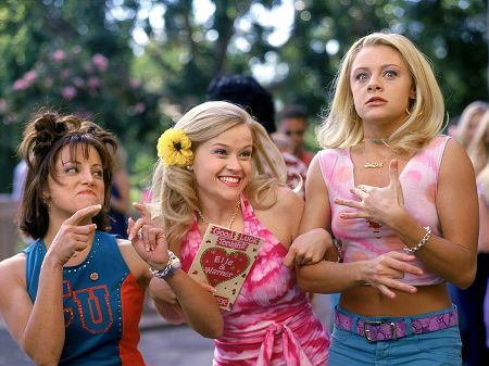 Cauffiel as Margot in the 2001 movie Legally BlondeImage Source: Wway TV