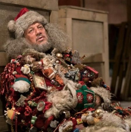 Reitman as Very Bad Santa in 2017 tv series Happy!Image Source: Pinterest