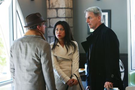 David as Ted Bankston along with Lerory and Lee in NCIS episode DaggerImage Source: Pinterest