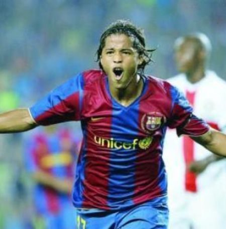 Giovani began his football career with Barcelona Image Source: My Hero Project