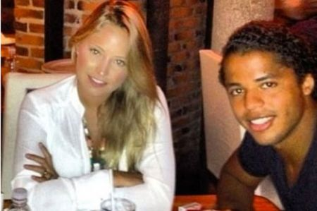 Dos Santos with ex-fiance Alexia Imaz in 2013Image Source: Pinterest