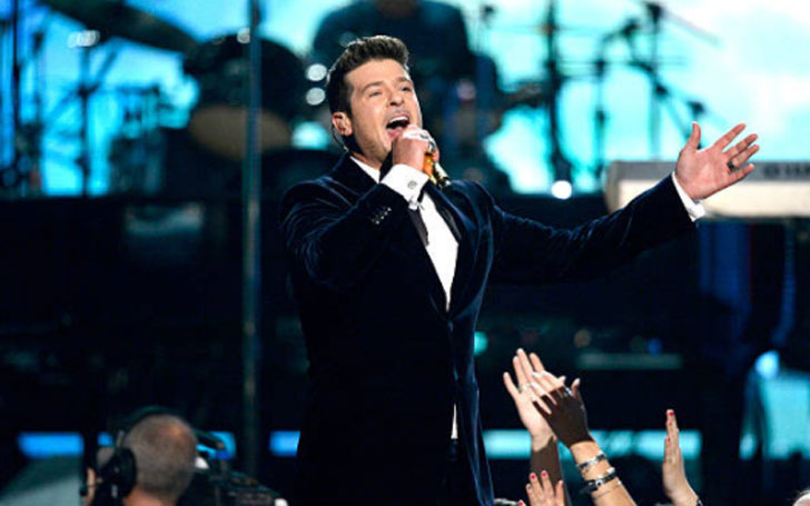 With whom is Robin Thicke Dating right now? Find out his Affair and Relationships.