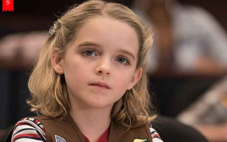 12 Years Hollywood Child Actress Mckenna Grace's Family Life and Parents; Her Career Achievements and Awards